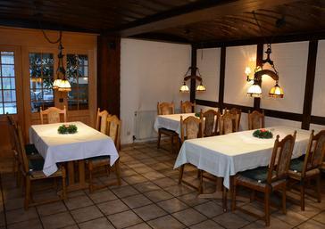 Gastraum - Restaurant Schinderhannes